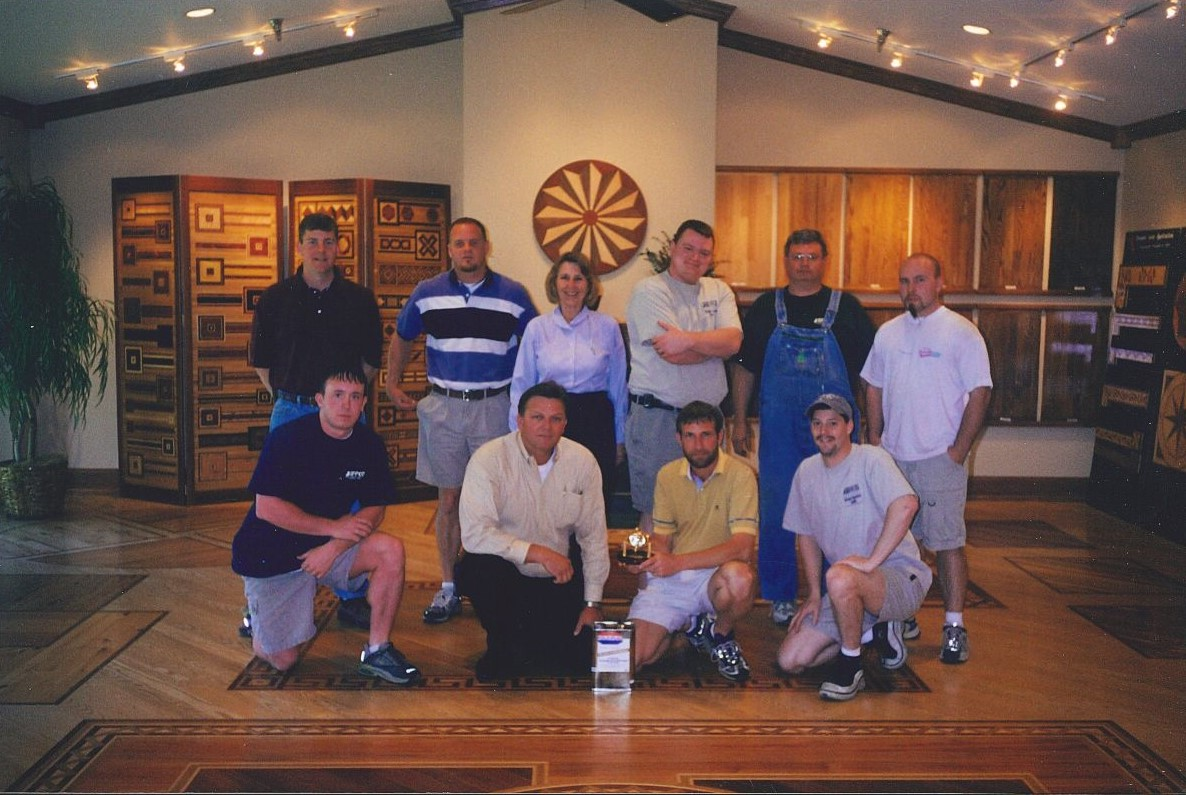 group shot in showroom 2 - Jeffco Flooring
