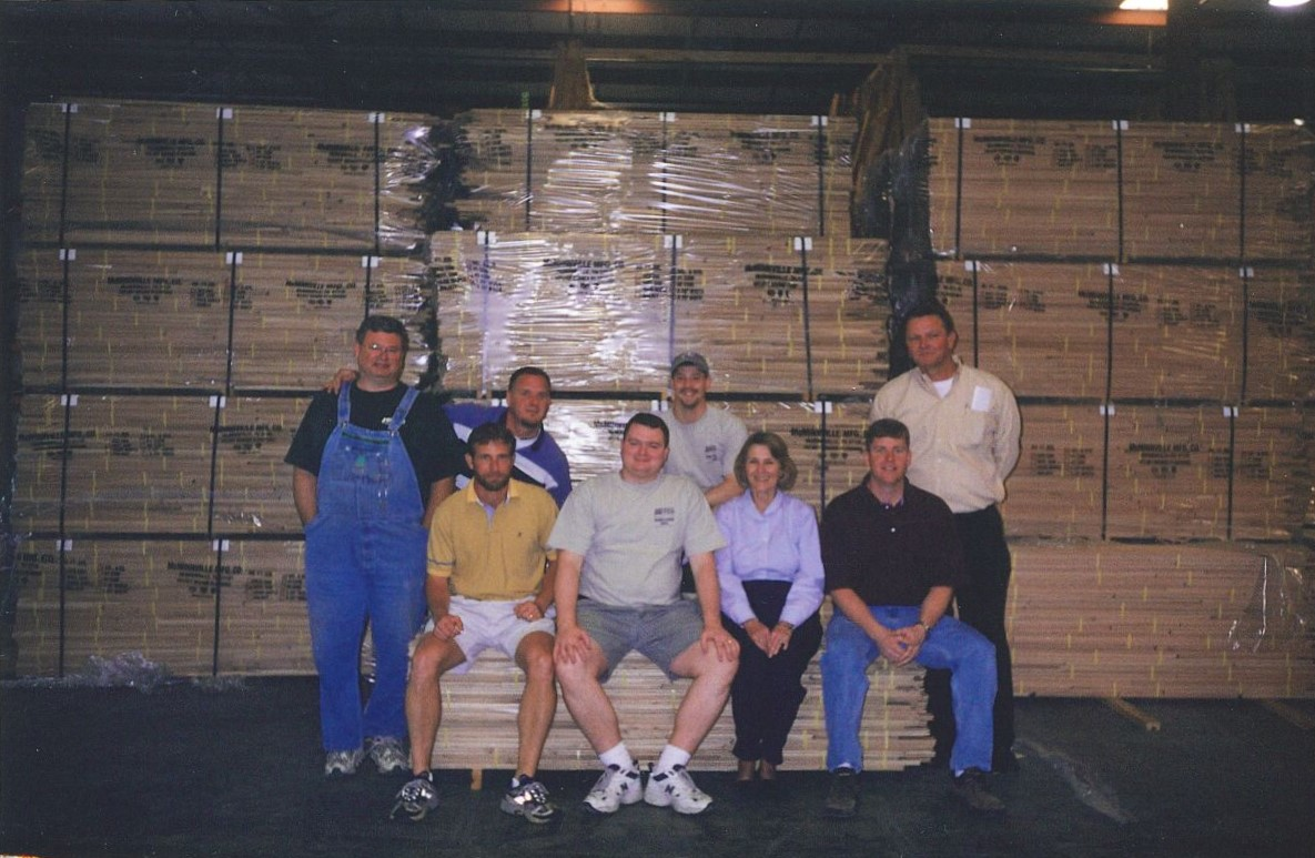 group shot in warehouse - Jeffco Flooring