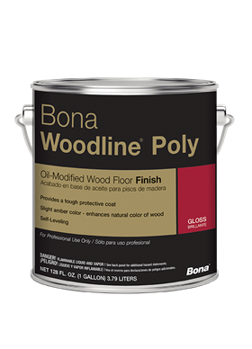 bona woodline poly - Jeffco Flooring