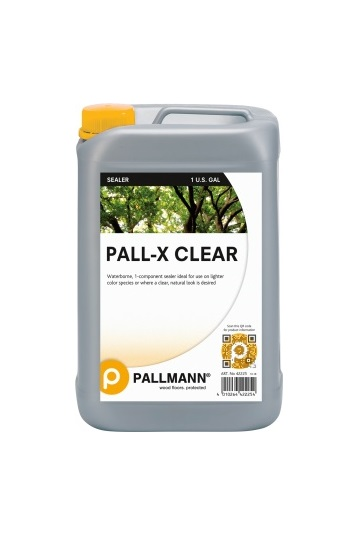 pall x clear sealer 1 3 - Jeffco Flooring