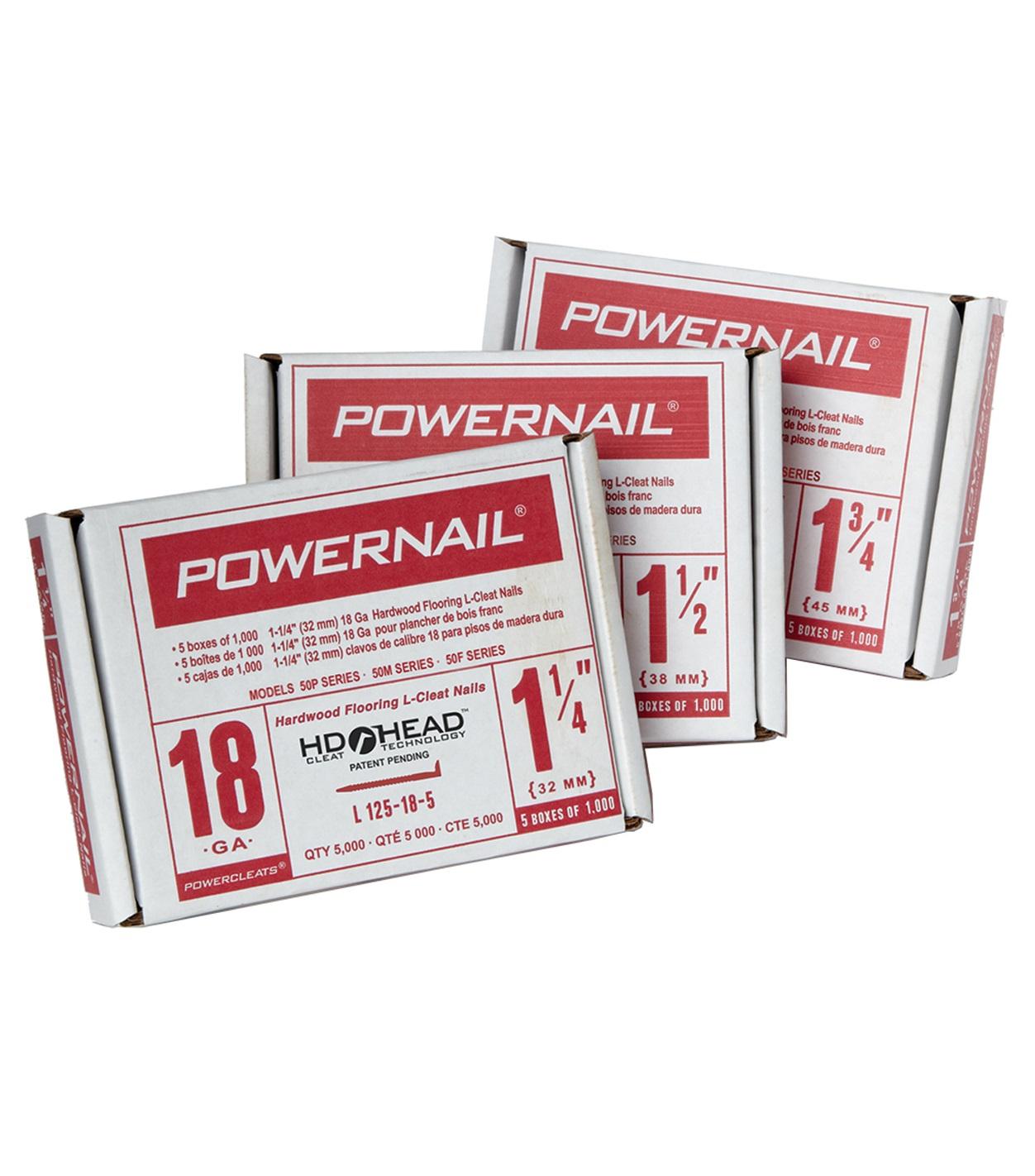 powernail cleats 18ga 1 - Jeffco Flooring