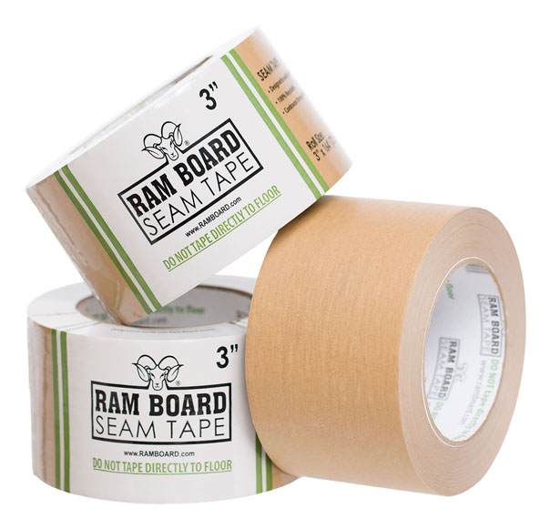 ram board tape picture - Jeffco Flooring