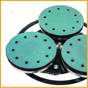 spider triple disc plate 01 - Jeffco Flooring